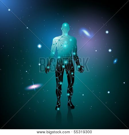 Human destiny, eps10 vector