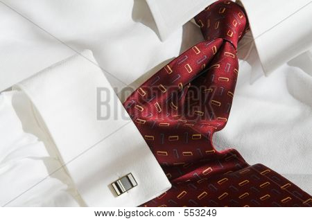 Executive Shirt And Tie