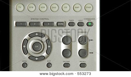 TV Remote Buttons
