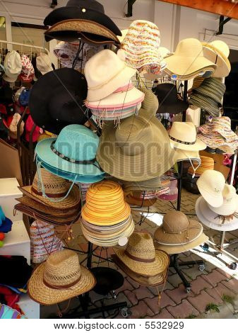 Hats On A Stool