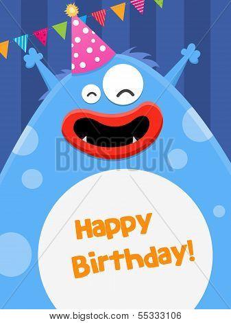 Big Birthday Monster