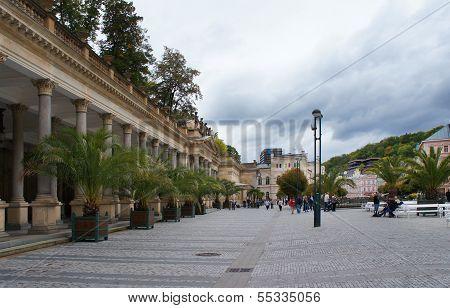 Center of Karlovy Vary