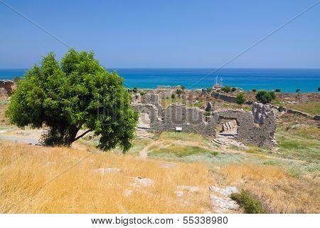 Anamurion Near Anamur, Turkey