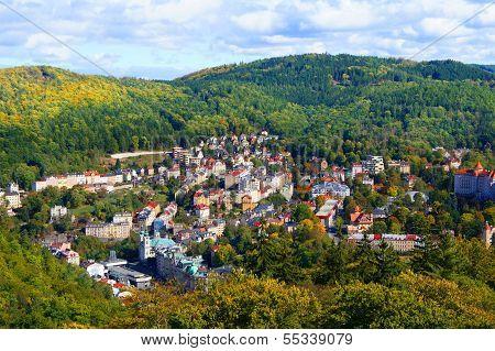 Karlovy Vary panorama