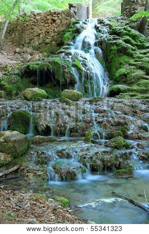Waterfall, Grand Canyon Of Crimea, Crimea, Ukraine