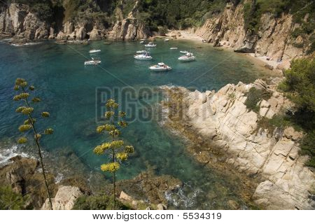 Sailing On The Mediterranean