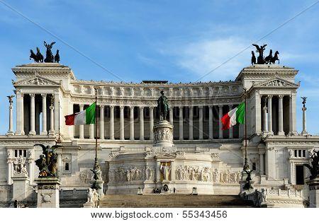 National Monument To Victor Emmanuel Ii (altare Della Patria), Piazza Venezia, Rome