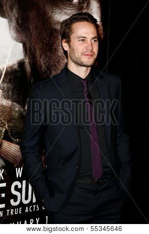 NEW YORK-DEC 3: Actor Taylor Kitsch attends the premiere of