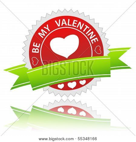 Be my valentine sign