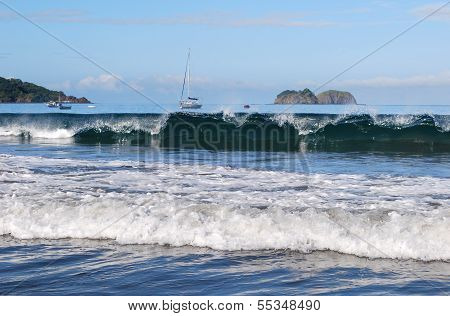 Pacific Ocean waves