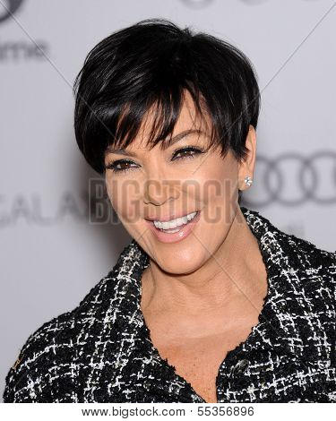 LOS ANGELES - DEC11:  Kris Jenner arrive to Women in Entertainment Breakfast 2013  on December 11, 2013 in Hollywood, CA