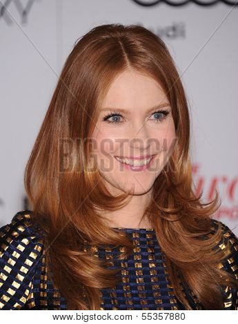 LOS ANGELES - DEC11:  Darby Stanchfield arrive to Women in Entertainment Breakfast 2013  on December 11, 2013 in Hollywood, CA