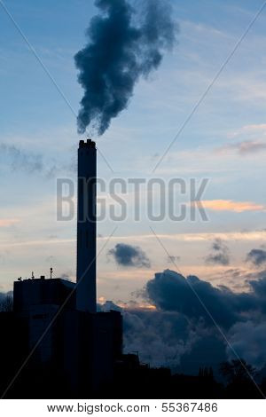 Fossil Fuel Power Generation Carbon Co2 Emission