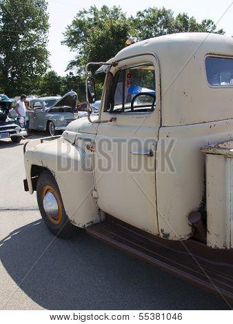1952 International L-120 Truck Close Up