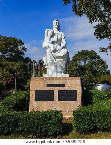 Statue of Peace at Nagasaki Peace Park