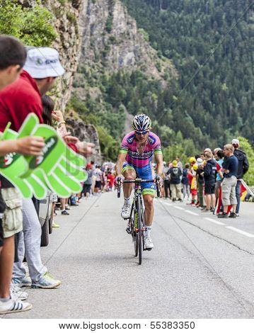 Davide Cimolai Climbing Alpe D'huez