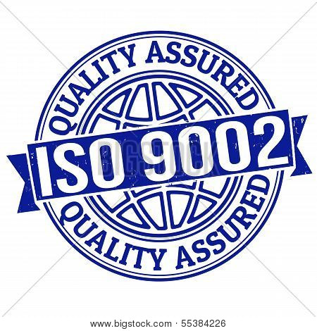 Iso 9002 Quality Assured Stamp