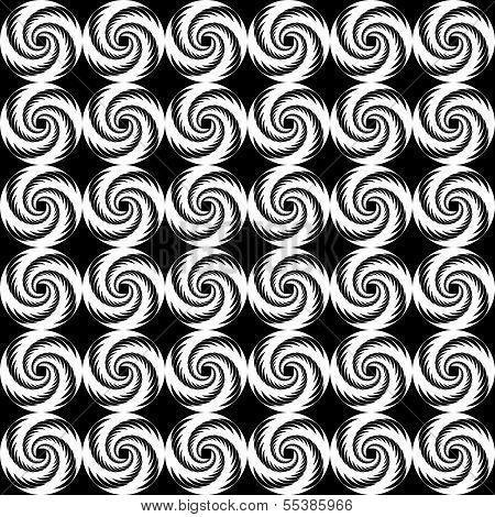 Design Seamless Spiral Trellis Background