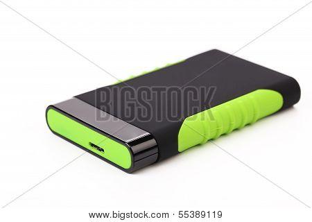 External silicon hard disk.