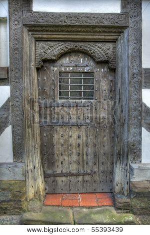 Tudor Door, Shropshire