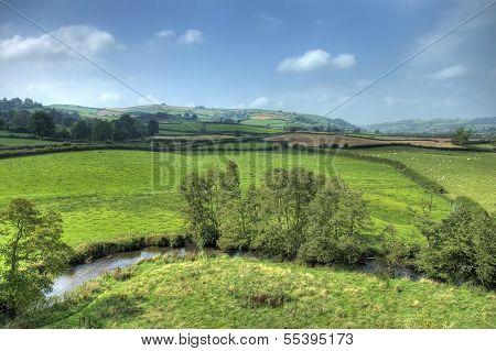 Clun Landscape, Shropshire
