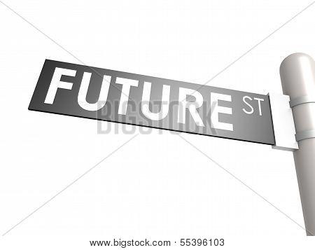 Future street sign