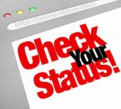 picture of status  - Check Your Status Words Website Online Update - JPG
