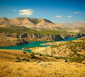 picture of euphrat  - Canyon of Euphrates River - JPG