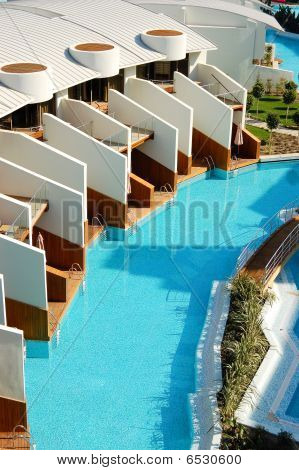 Villas At Modern Turkish Mediterranean Resort, Antalya, Turkey
