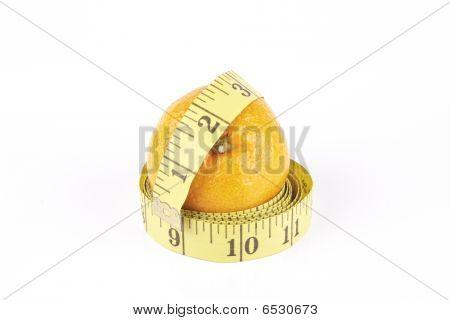 Satsuma And Tape Measure