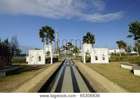 Crystal Mosque in Terengganu, Malaysia