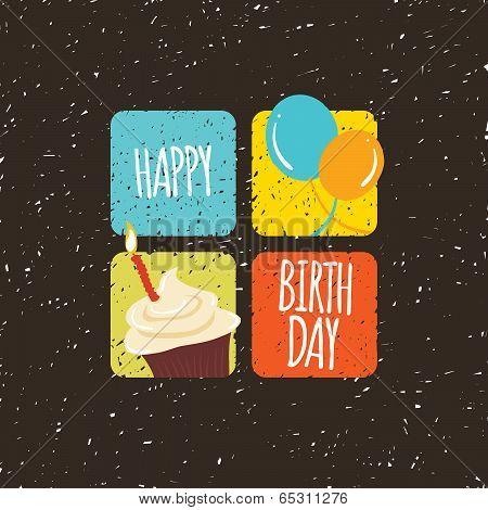Happy Birthday Four Squares