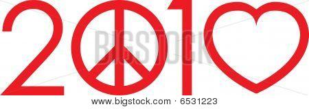 2010 Not war mak love