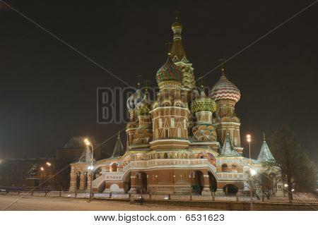 Kremlin intercesión Catedral St albahacas