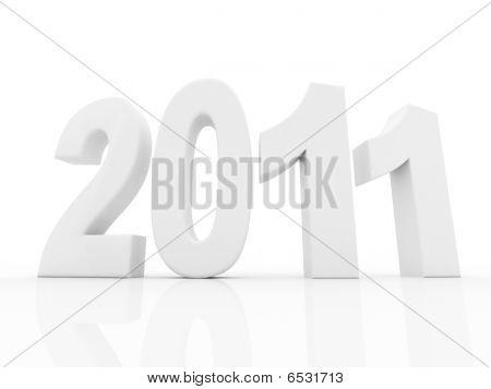 Illustration 2011 Year