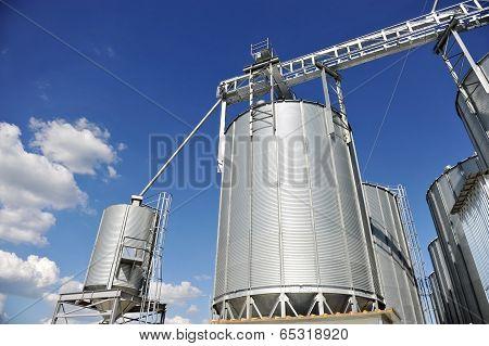 Industrial Grain Silo