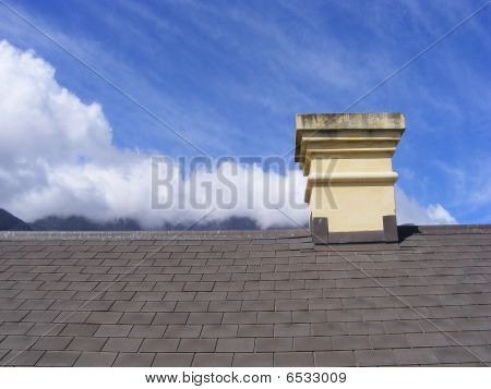 Chimney And Clouds