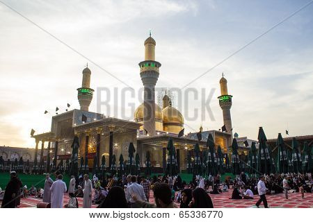 The shrine of Imam Moussa al Kadhim