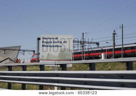 Mediopadana Railway Station