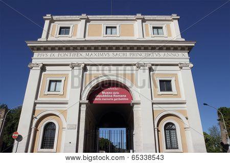 Largo Di Porta San Pancrazio
