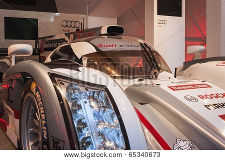Audi E-tron Quattro Car At Wired Next Fest In Milan, Italy