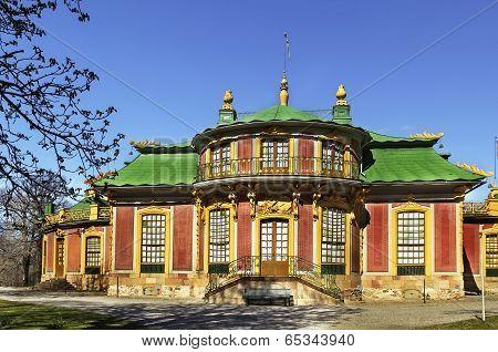 Chinese Pavilion At Drottningholm, Stockholm
