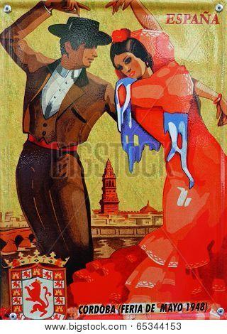 Vintage poster Cordoba's Spring Fair