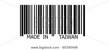 Made In Taiwan On Barcode