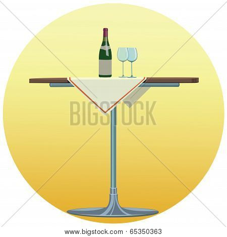 Wine - Illustration