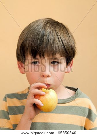 Eating An Apple