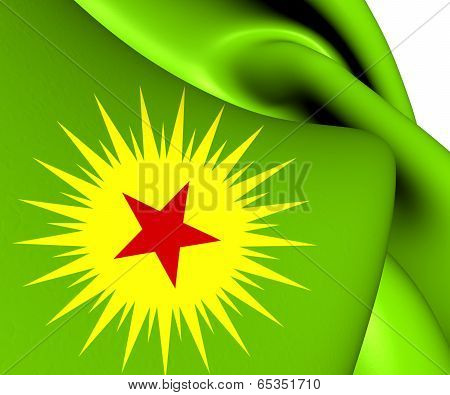 Flag Of Koma Civaken Kurdistan