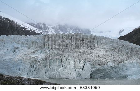 Patagonian Landscape With Glacier. Argentina. South America