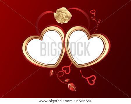 San Valentine Hearts Background