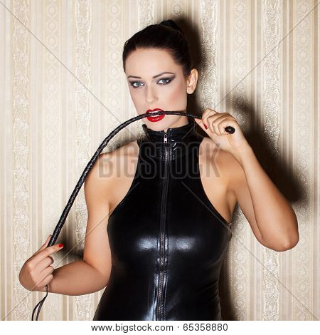 Woman With Whip
